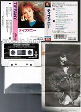 TIFFANY Tiffany JAPAN CASSETTE TAPE 14P4-2996 w/PS(Flap intact) 1989 reissue