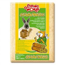 Living World Pine Shavings Small Pet Bedding 56l