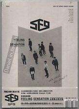 SF9: Feeling Sensation 2016 TAIWAN CD & DVD & CARD & MANDARIN BONUS TRACK