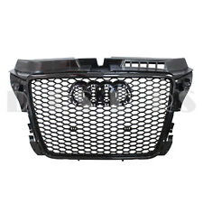 RS3 Style Hex Honeycomb Black Front Grille for Audi A3 S3 8P Facelift 2008-2013