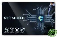 Carte RFID NFC Protection Carte Bleue Carte de Crédit Anti piratage Blocage
