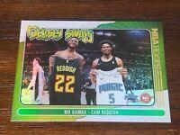 🏀🔥2020-21 CAM REDDISH / MO BAMBA NBA Hoops Jersey Swap Card No. 5 HOLO FOIL
