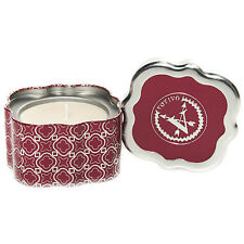 Votivo Red Currant Christmas Holiday Candle Quatrefoil Tin Plus Free Shipping