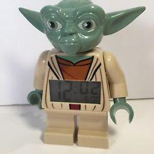 Lego Star Wars Yoda Alarm Clock Digital Clock Tested