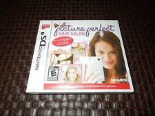 Picture Perfect Hair Salon (Nintendo DSi Game, 2009) ****VG****MO MANUAL****