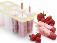 Kitchen Craft Completa Hielo Lolly Lollypop Moldes Maker Kit Set Completo & Palos