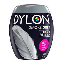 DYLON Textilfarbe rauchiges Grau Farbe & Fixierer für 600g Stoff fabric dye grey