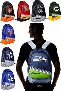 """NFL,MLB Team Stripe Core Backpack 18"""" x 6"""" x 13"""""""