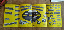 More details for trix twin railway fold out pamphlet