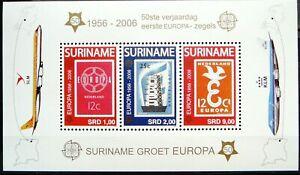 Surinam Souvenir Sheet - Europa stamps - 50_2006 - MNH.