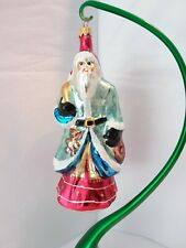 "Christopher Radko Father Christmas Pere Noel French Santa ""1996"""