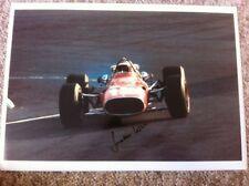 Jonathan Williams Ferrari 312 Mexican Grand Prix 1967 Signed **Large 16 x 11**