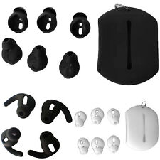 Soft Silicone Carry Earbud Pad Cover Part For Airpods 2 1 Earphones Anti-dust