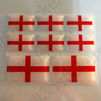 Sticker England Resin Domed Stickers England Flag 3D Vinyl Adhesive Decal Car