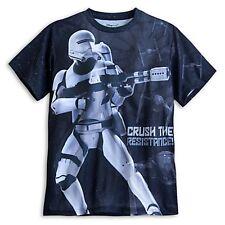 Disney Mens Tshirt XL X-Large Stormtrooper Star Wars The Force Awakens