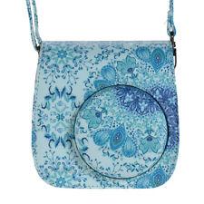 Andoer Pu Camera Case Bag for Fujifilm Instax Mini 9/8+/8s/8, Blue O4V6
