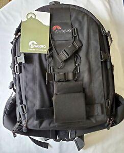 Lowepro Nature Trekker AW DSLR Camera Bag Hiking Deluxe Photo Backpack-Black