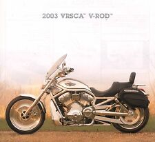 2003 HARLEY-DAVIDSON VRSCA V-ROD 100TH ANV BROCHURE -V ROD VRSCA 100TH ANV