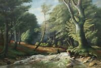 Spätromantiker - Naturalist - It Monogram - Stream IN The Forest - Old Oil