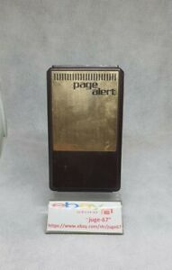 Vintage 70s Alarm Pager Model 4000R,part Of Page Alert Vehicle Auto Theft Syste.