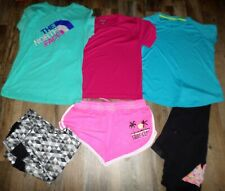 Lot Women's Workout Clothes Size L North Face Under Armour Shirts Leggings