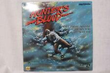 HUNTER'S BLOOD Laser VideoDisc Extended Play Hi-Fi Mono 1987 RARE, Horror