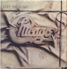 """CHICAGO - Stay the night - VINYL 45 RPM 7"""" ITALY 1984 NEAR MINT COVER NEAR MINT"""