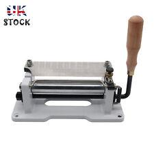 "6"" Manual Leather Skiver Peeler Splitter DIY Shovel Skin Skiving Machine *UK"