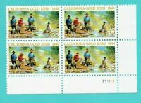 Scott #3316 33c California Gold Rush - 150th Plate Block of (4) MNH/OG VF-XF