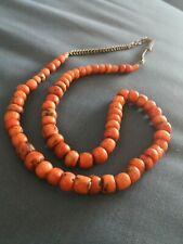 Collier corail ancien old necklace