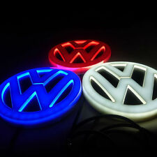 4D Badge Emblem Logo with Red LED Light fit for VW Golf Magotan CC Tiguan Bora