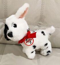 Mattel 101 Dalmatians Patch Plush 1991 Red Collar Vintage Stuffed Dog Puppy