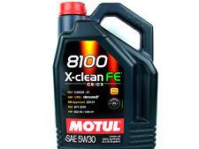 5Liter Motul 8100 X-Clean FE 5W30 Öl Motorenöl Motoröl 5W-30 VW MB Fiat Opel