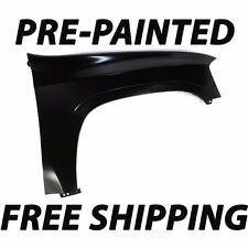 NEW Painted to Match - Passengers Right Front Fender for 2002-2009 GMC Envoy SUV
