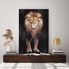 ACRYLGLAS WANDBILD LÖWE LION ABSTRAKT KUNSTDRUCK BILDER NATUR GLASBILD TIERE