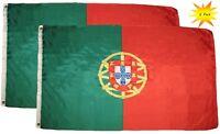 HUGE 8ft x 5ft Portugal Flag Massive Giant Portuguese Funeral Coffin Drape Flags