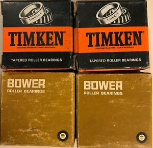 1930-41 American Austin Bantam + Truck Front Wheel Outer Bearings NOS Set of (2)