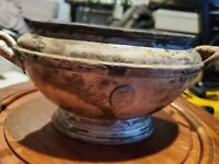 Reed & Barton Silver Soldered 34oz Decorative Bowl From The Grand Hotel/NY