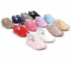 First Walk Baby Shoes Leather Cute Style Footwear Newborn Girls Casual Shoe Sole