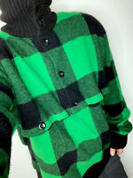 Polo Ralph Lauren X-Large Sweater Green RRL VTG Hunting LambsWool Country Mock