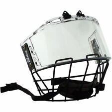 TronX S920 Senior Hockey Hybrid Helmet Cage and Shield Combo Full Face Shield