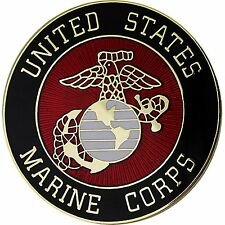 USMC MARINE CORPS CREST HIGH QUALITY LAPEL HAT PIN - MADE IN THE USA!