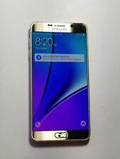 Samsung Galaxy Note 5- Silver- Carrier Unknown - TouchNtWrnkg - Jn320