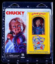 NECA - CHILD`S PLAY - CHUCKY RETRO MEGO STYLE - ACTION FIGUR  - NEU/OVP
