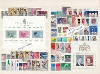 LIECHTENSTEIN 1961-1995 - Big Collection Sale - 35 Complete Years.  MNH.  €1180