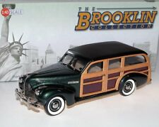 Brooklin BRK 191a, 1940 Buick Model 59 Station Wagon, Woodie, Lassen green, 1/43
