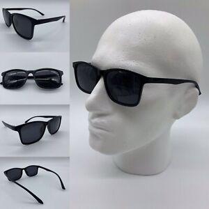 Men's Ultra Light Black HD Polarized Lenses Black TR90 Frame Sunglasses