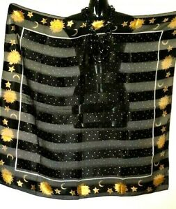 Scarf / Kaftans Accessories/Large/ Worn in Many Styles /Stars & Moons /Wholesale