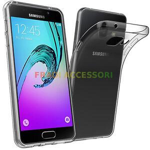 Cover case Samsung A5 2016 TPU ultra slim silicone trasparente morbida sottile