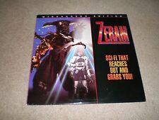 ZERAM Laserdisc Yuko Moriyama Widescreen Edition Sci Fi VERY RARE